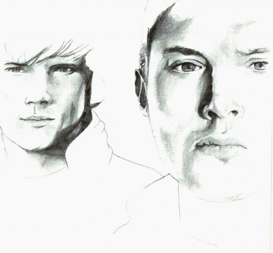 Jared Padalecki, Jensen Ackles by CARLOTTITA91